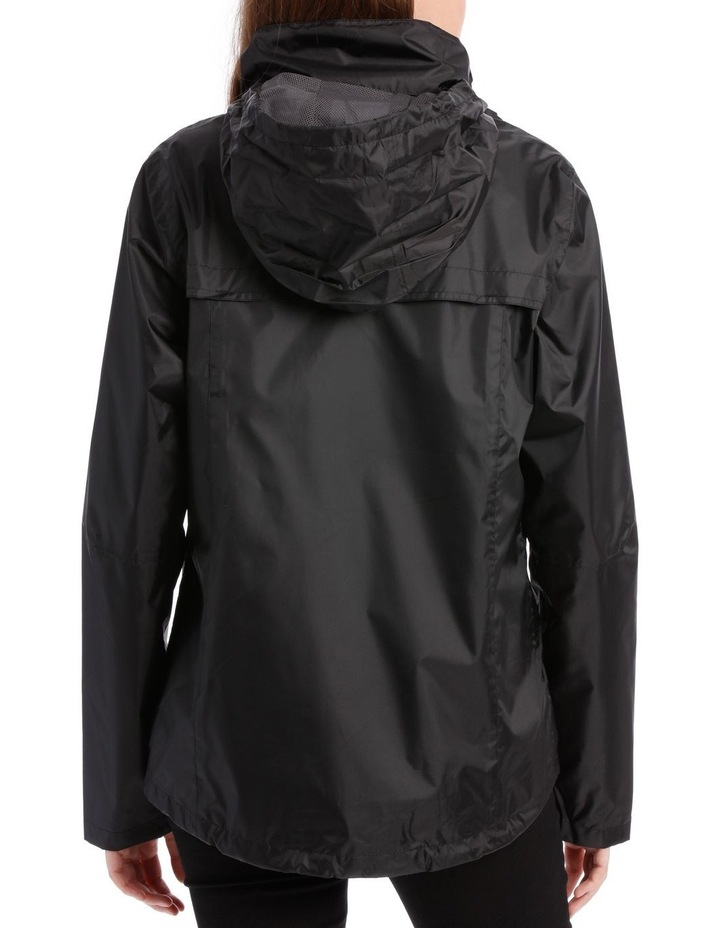 Delta waterproof packable jacket with venting detail image 4