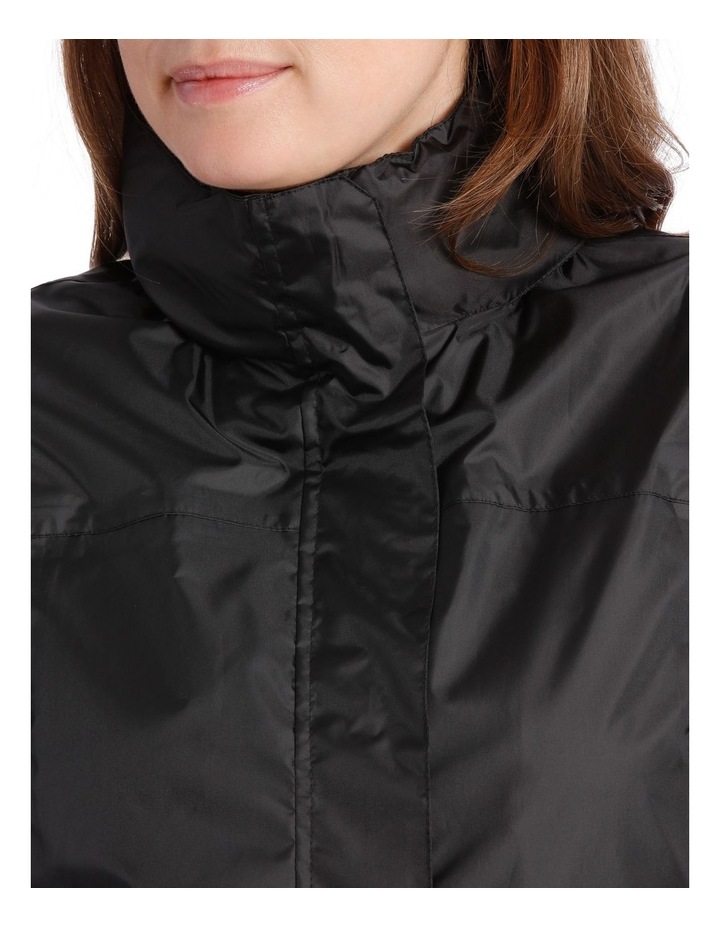 Delta waterproof packable jacket with venting detail image 5