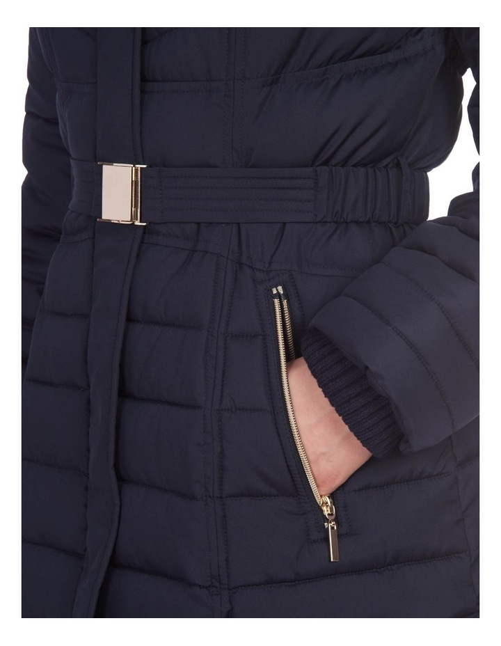 Belted Puffer Jacket image 3