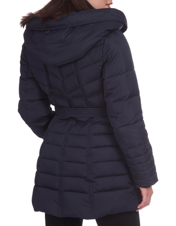 Belted Puffer Jacket image 4