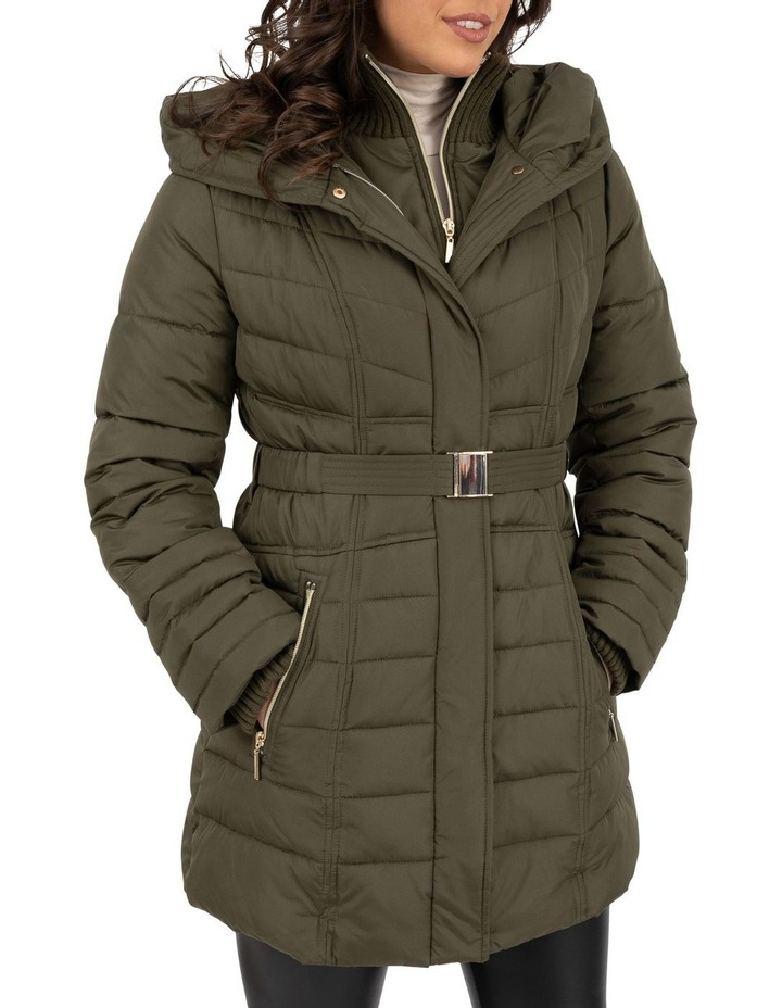 Longline Belted Puffer image 1