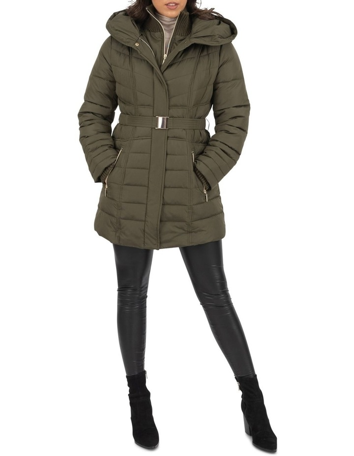 Longline Belted Puffer image 2