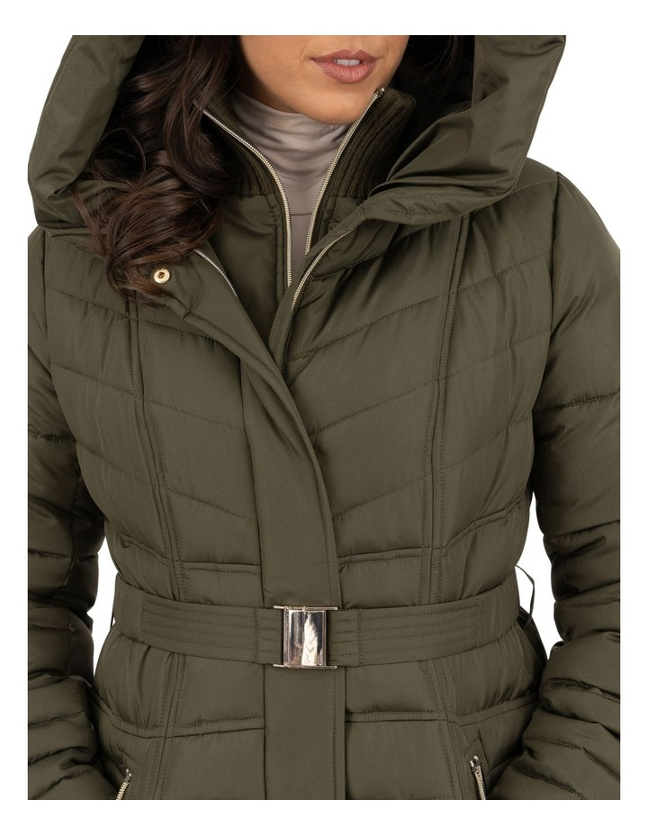 Longline Belted Puffer image 3