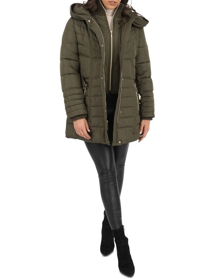 Longline Belted Puffer image 4