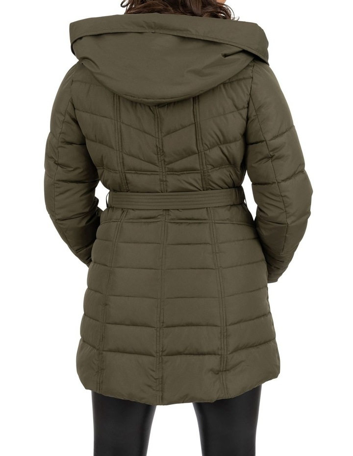 Longline Belted Puffer image 5