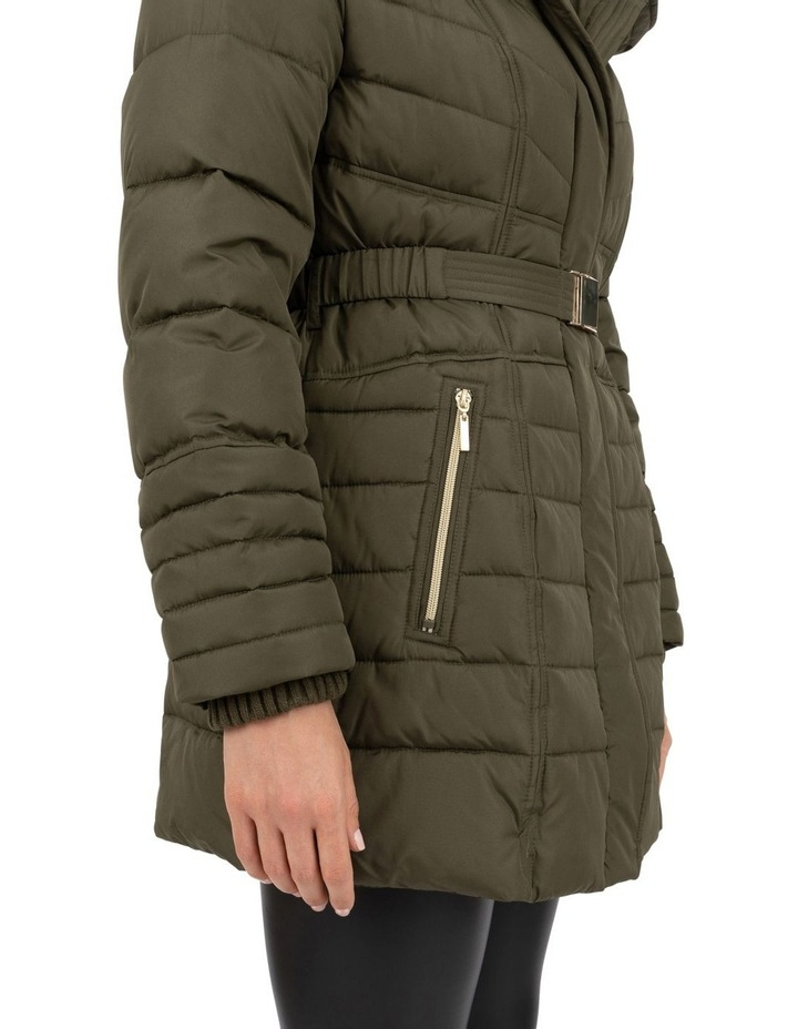 Longline Belted Puffer image 6