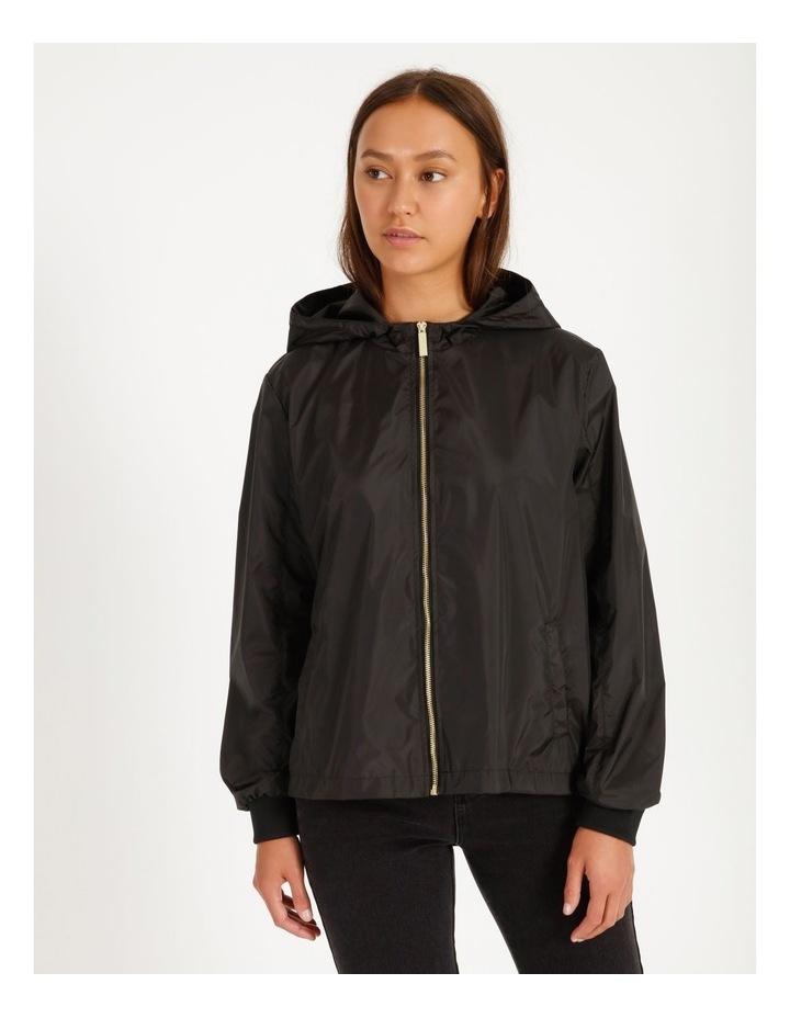 Crop Packable Raincoat image 1