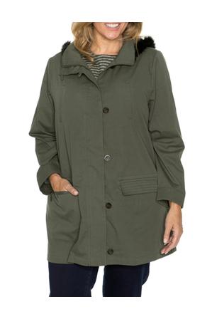 Yarra Trail Woman - Stitch Detail Hooded Jacket