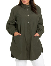 Yarra Trail Woman - Curved Hem Jacket