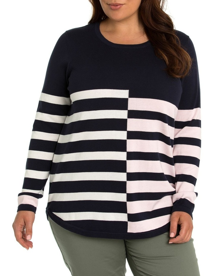Broken Stripe Jumper image 1