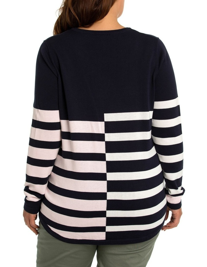 Broken Stripe Jumper image 2