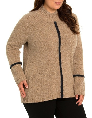 d972e41800595 Yarra Trail Woman Tipping Stripe Knit