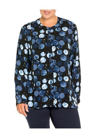 Yarra Trail Woman - Moons Print Shirt