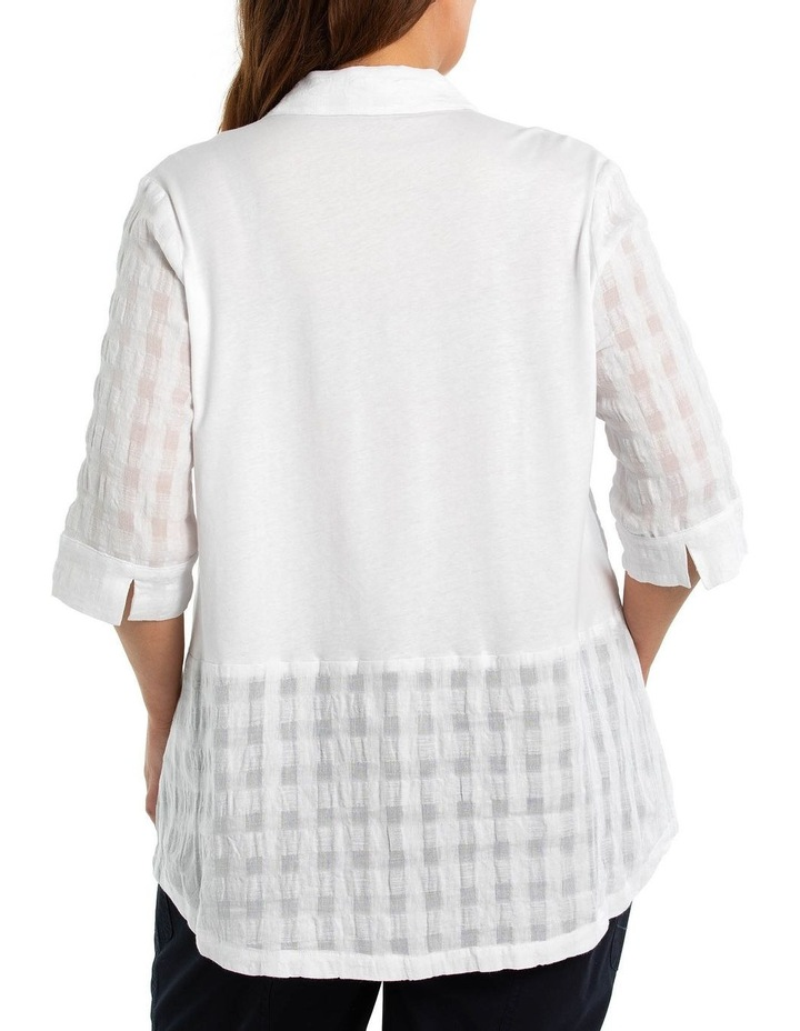 Textured Linen shirt image 2