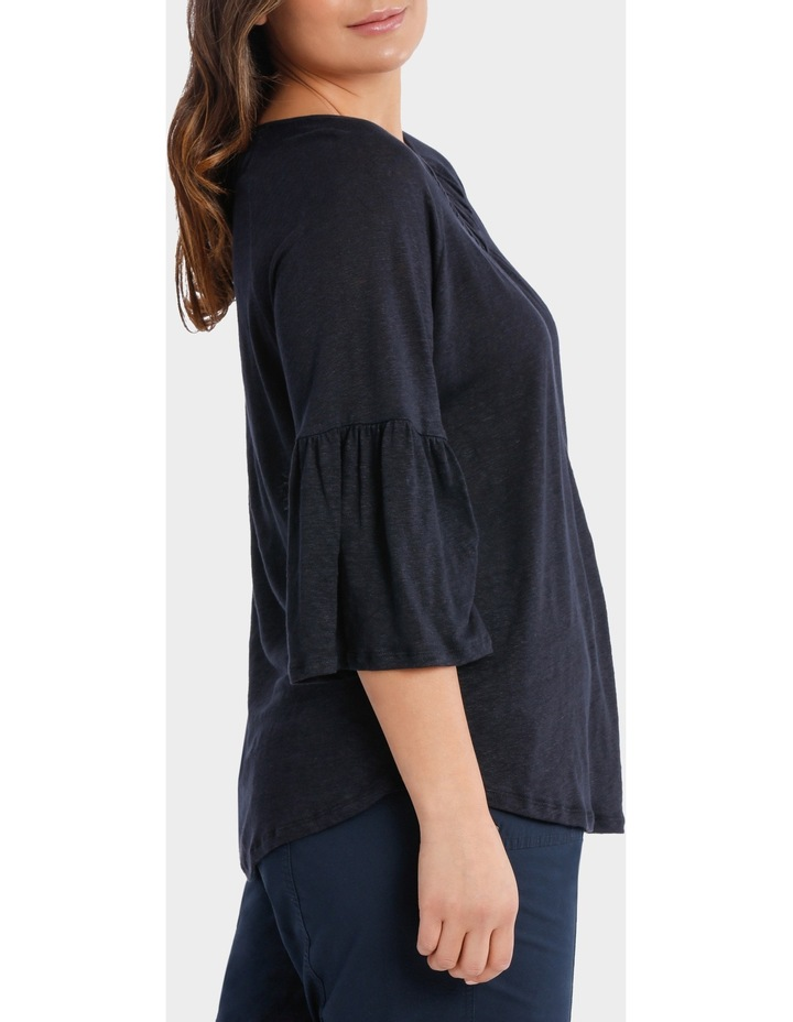 Ruched Jersey Tee image 2