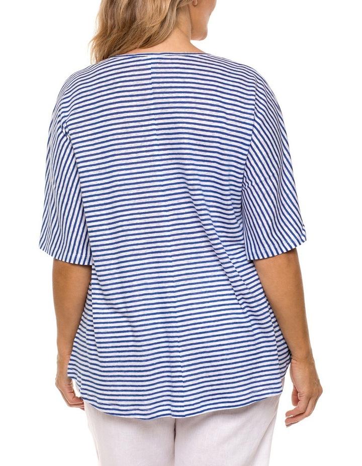 Panelled Stripe Tee image 2