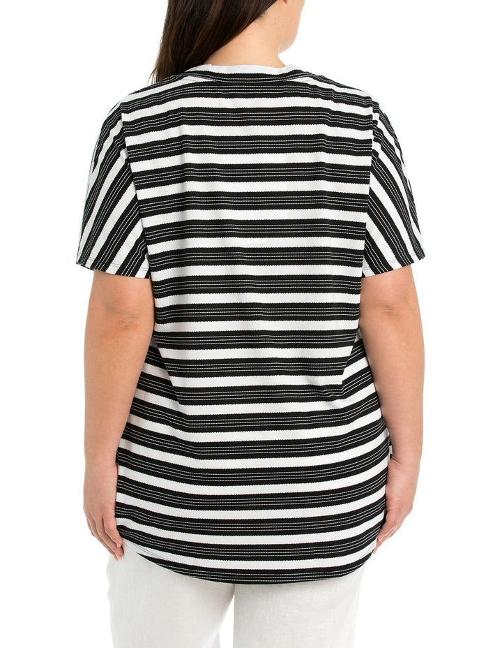 Diagonal Stripe Tee image 2