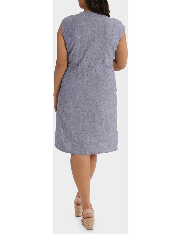 S/S Crossdye Linen Dress image 3
