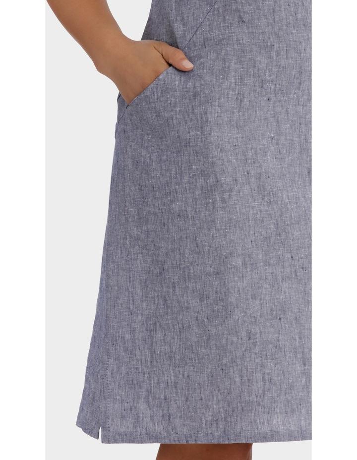 S/S Crossdye Linen Dress image 4