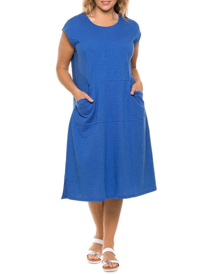 Flared Jersey Dress image 1