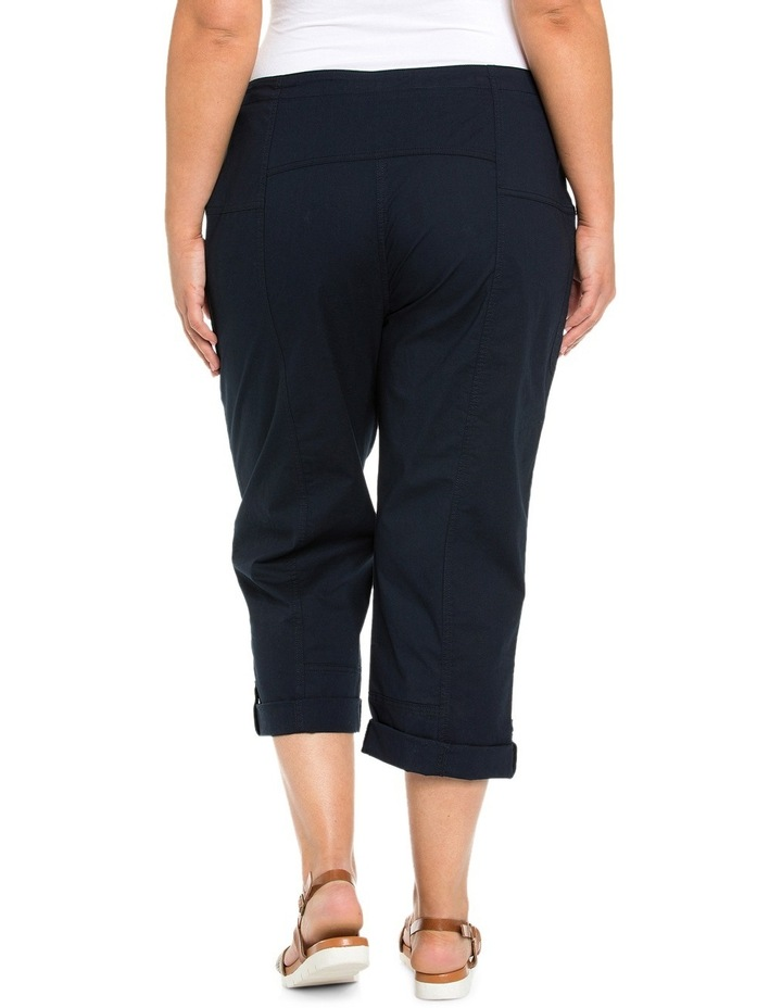 Panelled Washer Cotton Pant image 2