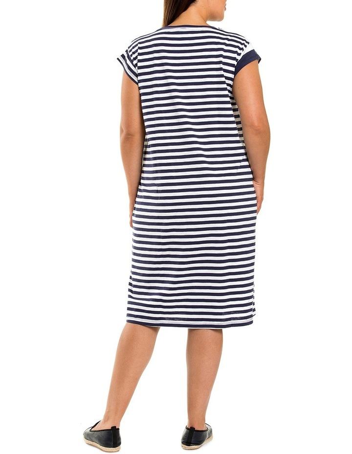 Stripe Panelled Dress image 2