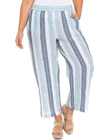 4f449f9efc Yarra Trail Woman Ocean Stripe Pant
