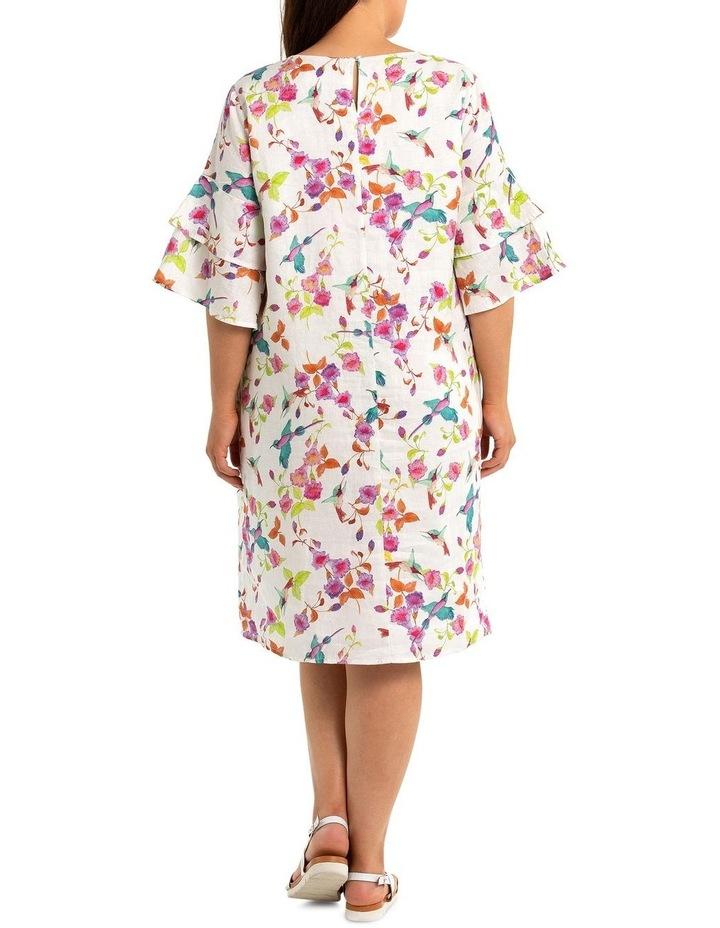 Swallows Print Dress image 2