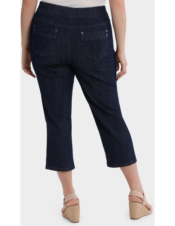 3/4 Pull On Jean image 3