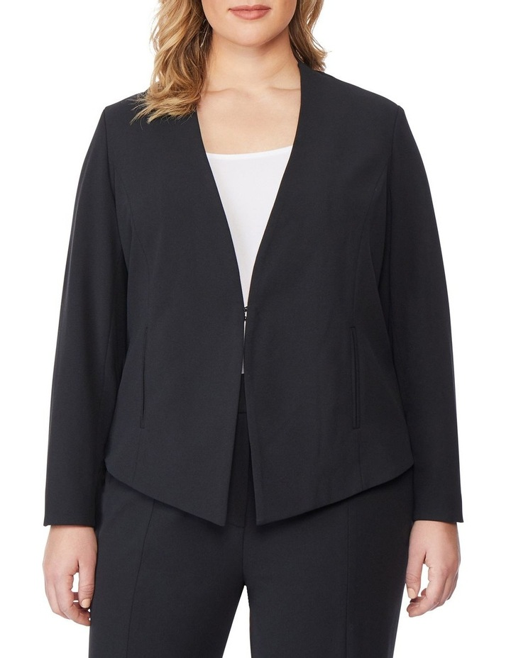 Open Fitted Blazer image 1