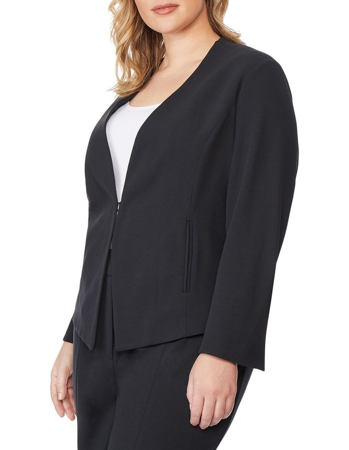 Open Fitted Blazer image 2
