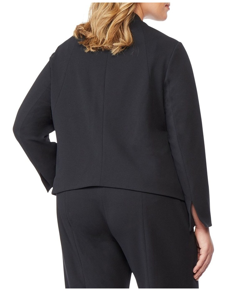Open Fitted Blazer image 3
