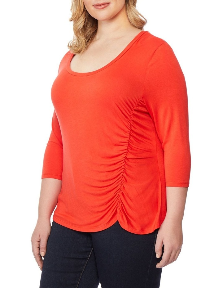 Asymmetric Rouched Top image 2