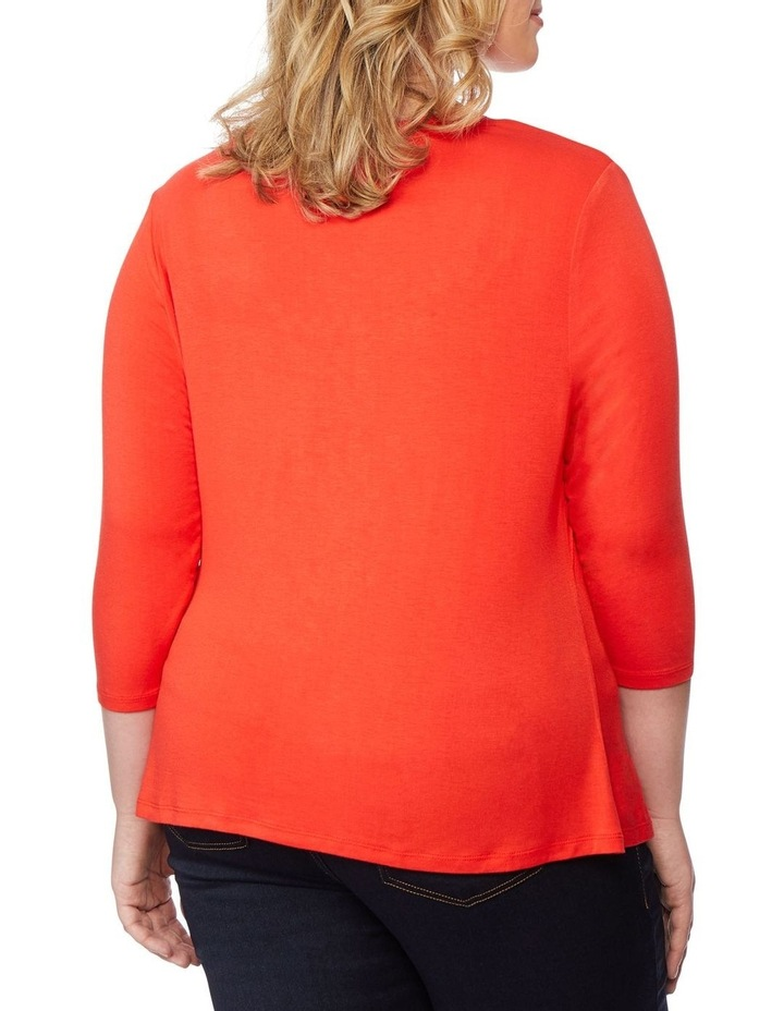 Asymmetric Rouched Top image 3