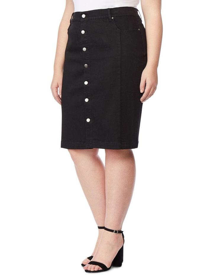 High Rise Pencil Skirt image 1