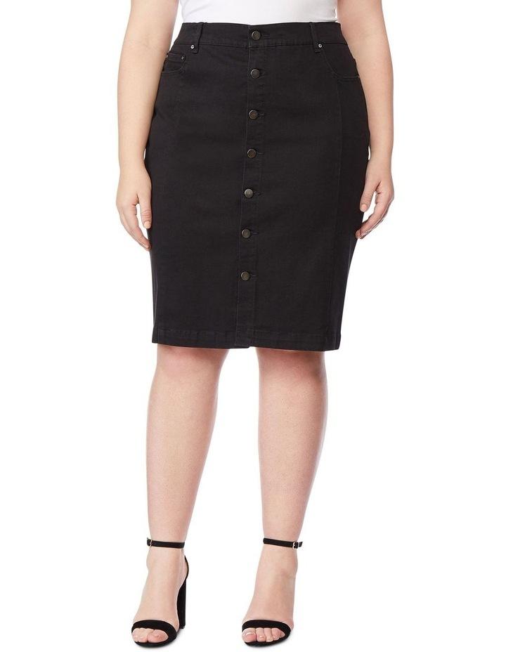 High Rise Pencil Skirt image 2