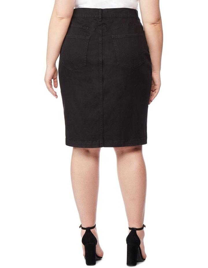 High Rise Pencil Skirt image 3