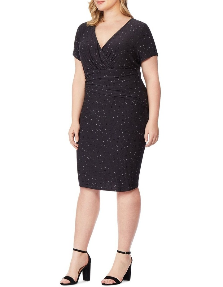 Fitted Dress With Surplice image 2