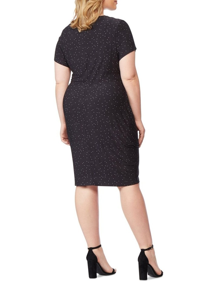 Fitted Dress With Surplice image 3