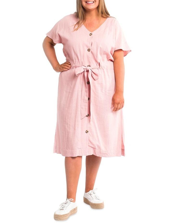 Chloe Midi Solid Dress image 1