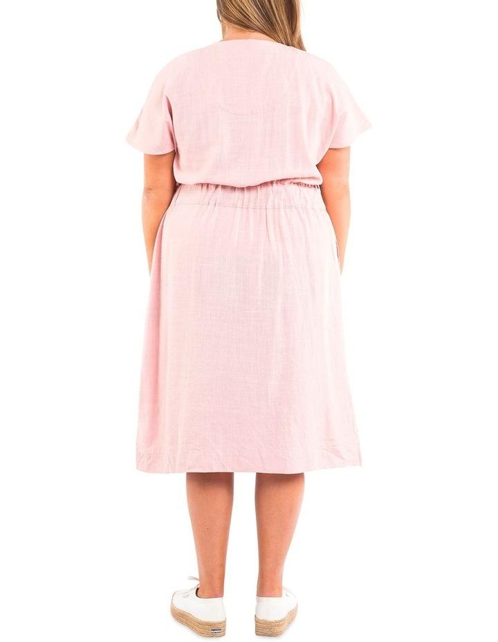 Chloe Midi Solid Dress image 2