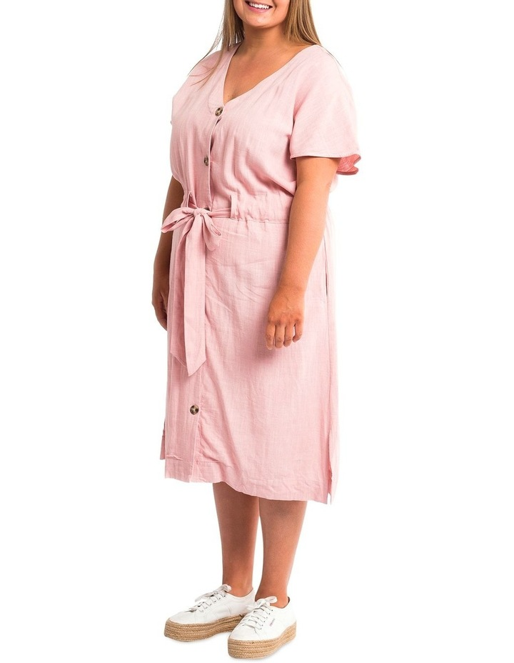 Chloe Midi Solid Dress image 3