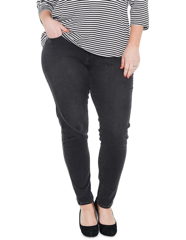 b5b1e280ed0f1 Levi's Plus | Plus 310 Shaping Super Skinny Jeans Washed Out Black ...