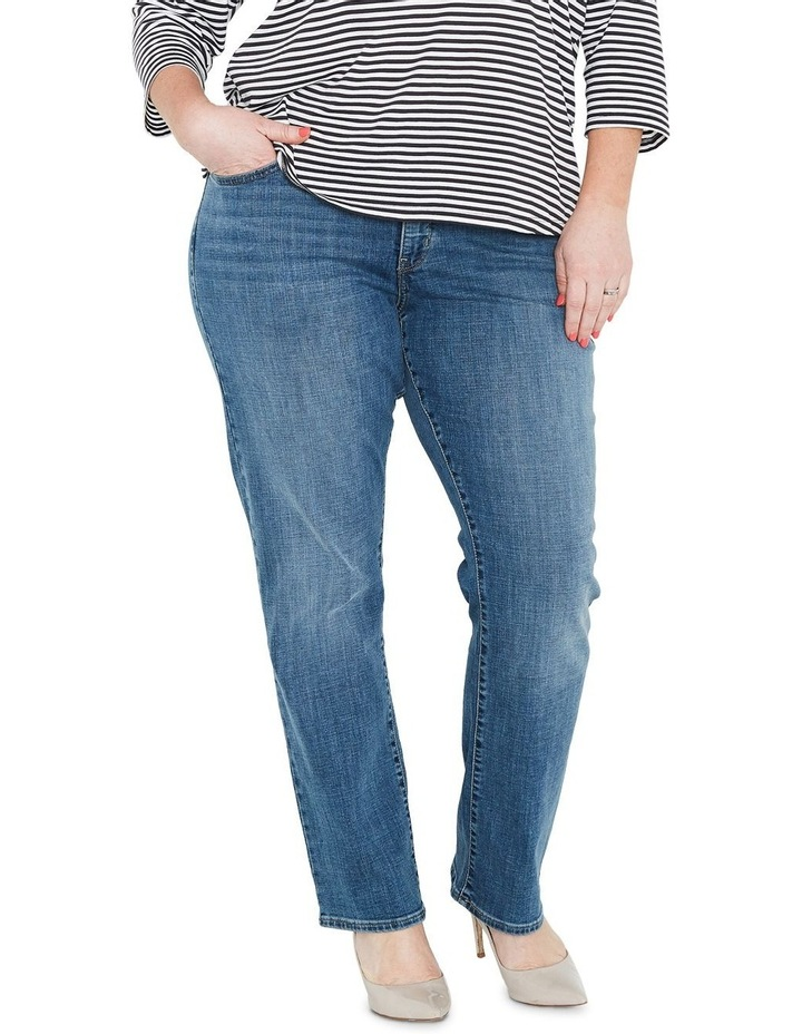 Plus 314 Shaping Straight Jeans Jeans Indigo Anomaly image 1