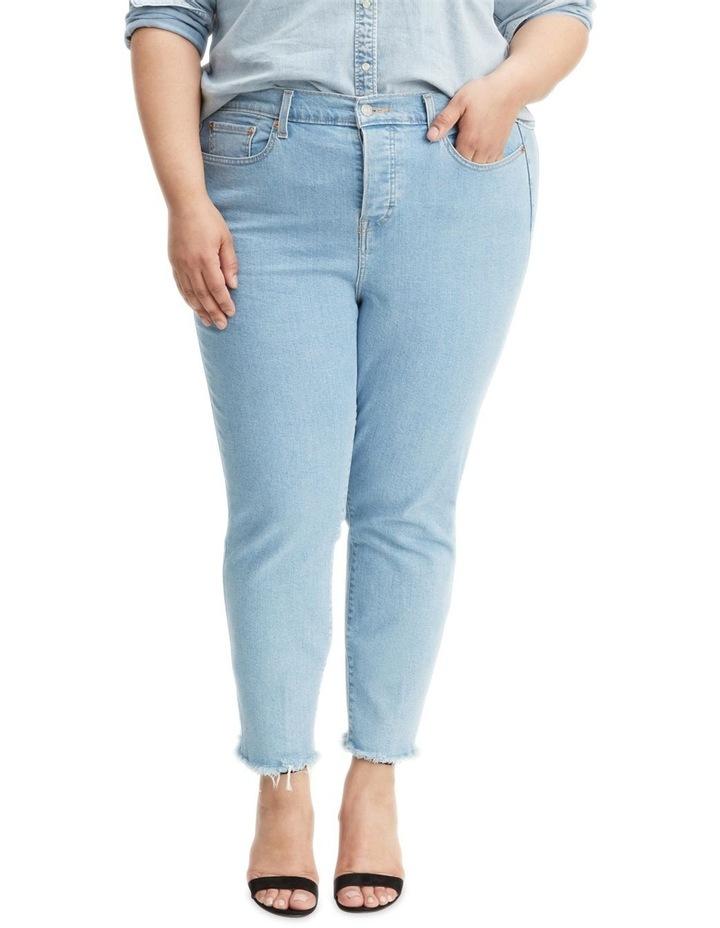 Plus Wedgie Skinny Jeans image 1