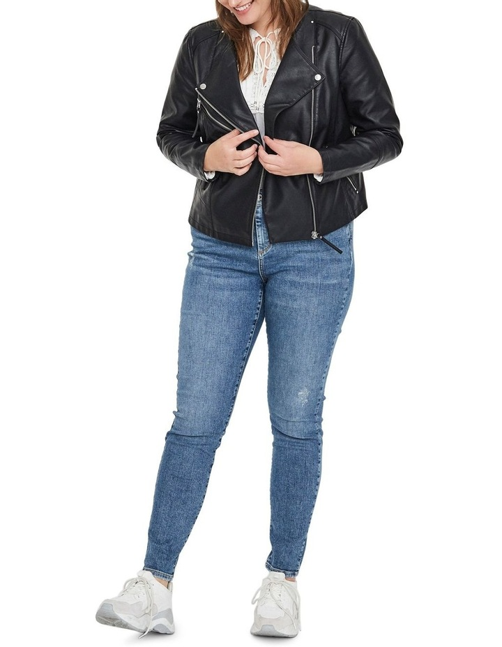 Ria Faux Leather Jacket image 2