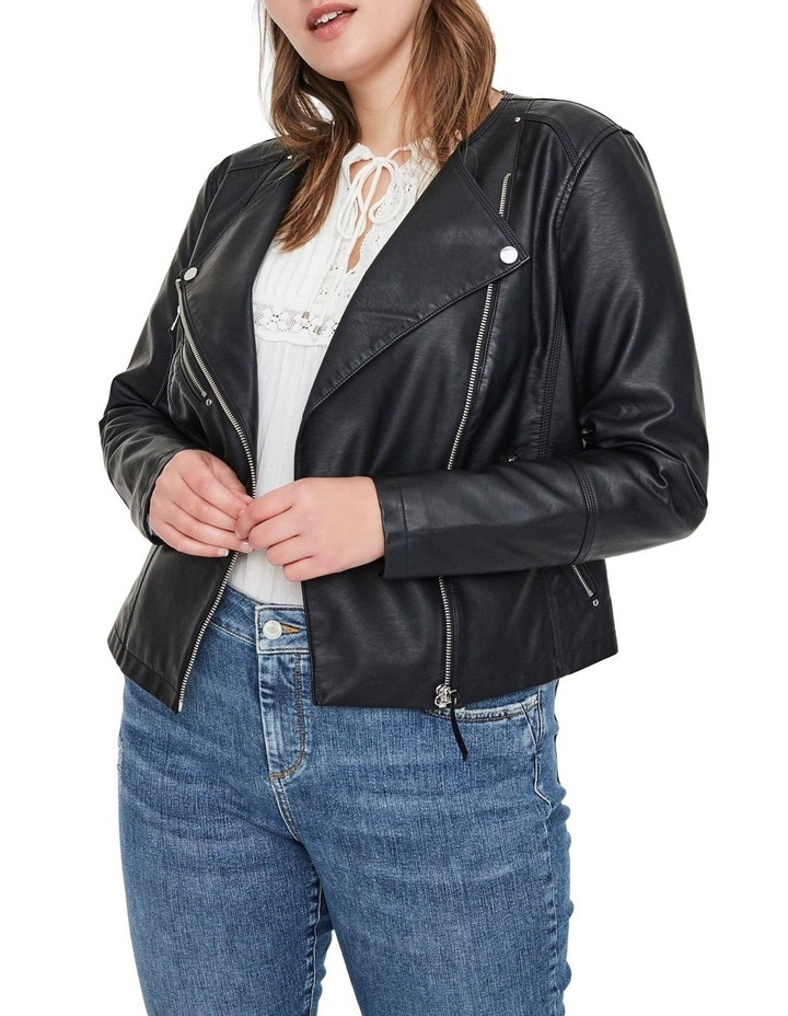 Ria Faux Leather Jacket image 2