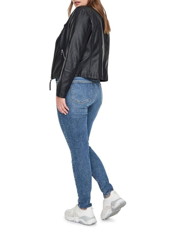 Ria Faux Leather Jacket image 3