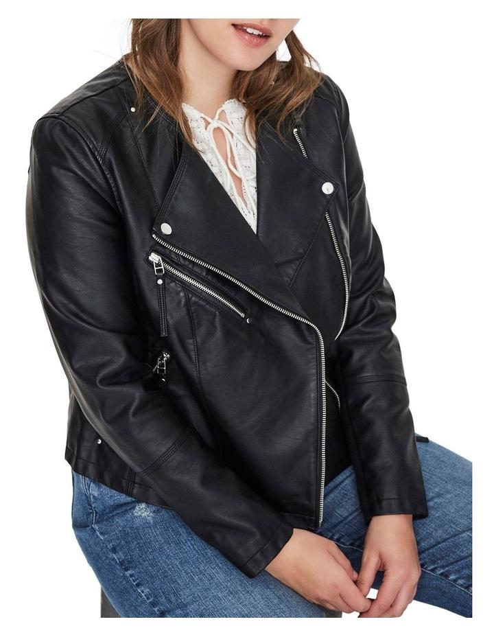 Ria Faux Leather Jacket image 4