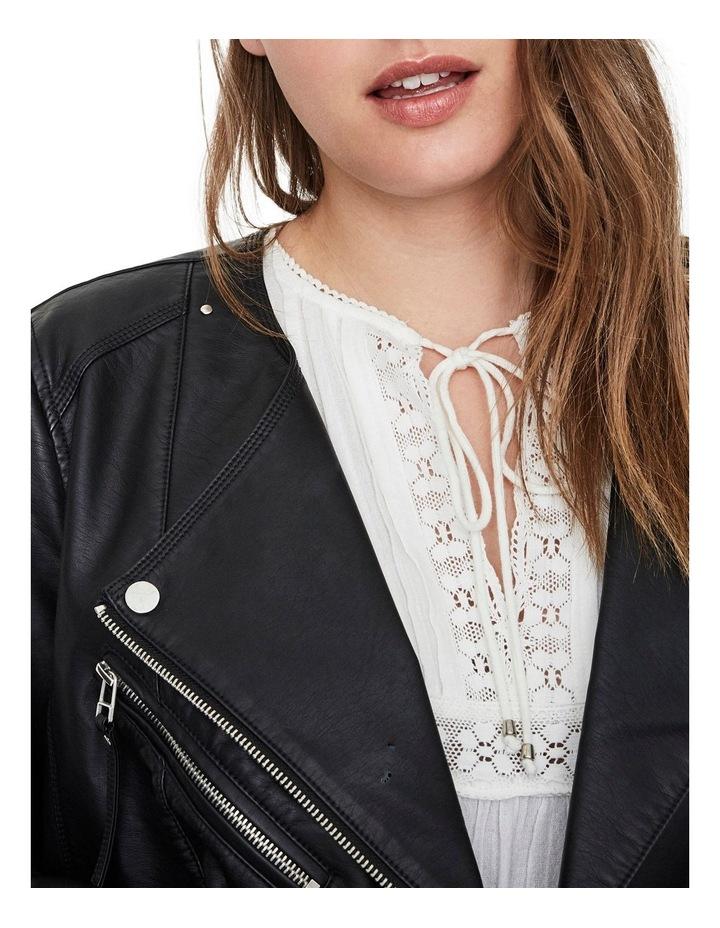 Ria Faux Leather Jacket image 5